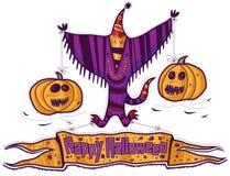 Fantasma felice di Halloween Fotografia Stock Libera da Diritti