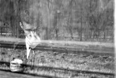 Fantasma gritador Fotografía de archivo libre de regalías