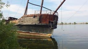 Fantasma naufragado Fotografía de archivo libre de regalías