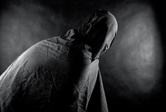 Fantasma nello scuro Fotografie Stock