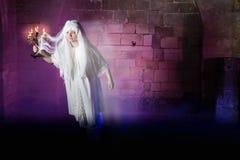 Fantasma pallido Immagine Stock