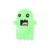 fantasma retro de la historieta Foto de archivo libre de regalías