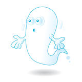 Fantasma sorprendido Imagen de archivo libre de regalías