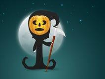 Fantasma spaventoso per la celebrazione felice di Halloween Fotografie Stock