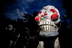 Fantasma Tailândia de Dia das Bruxas Fotografia de Stock Royalty Free