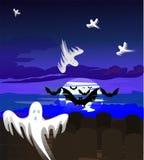 Fantasma-tempo Imagem de Stock Royalty Free