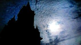 Fantasmagoria na igreja imagem de stock