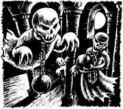 fantasmas Imagens de Stock Royalty Free