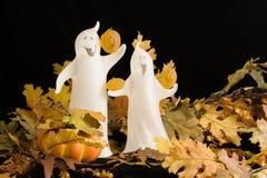 Fantasmas de Víspera de Todos los Santos Fotografía de archivo libre de regalías