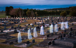 Fantasmas dos mortos Imagem de Stock
