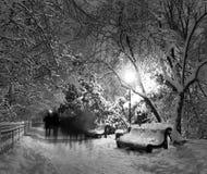 Fantasmas en el parque Imagenes de archivo