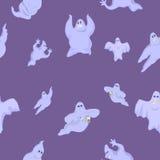 Fantasmas ridículos y divertidos en Halloween Imagenes de archivo
