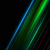 Fantastic abstract eco stripe background design Stock Photography
