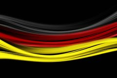 Fantastic abstract german colors for sport events. With space for your text vector illustration