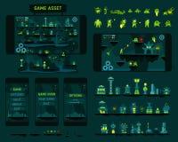 Fantastic adventures game asset Stock Image