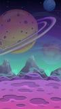 Fantastic alien landscape Royalty Free Stock Photo