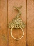 Fantastic Animal Ornament Door Sculpture Royalty Free Stock Photo
