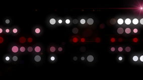Fantastic animation with bubbles and light in motion, loop HD 1080p stock footage