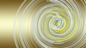 Fantastic animation with stripe object in motion, loop HD 1080p Royalty Free Stock Photography