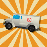 The fantastic armored truck Stock Photos