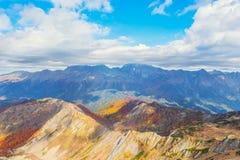 Fantastic autumn mountain landscape. Stock Images