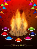 Fantastic background for Indian festival Holi Royalty Free Stock Images