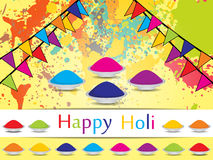Fantastic background for Indian festival Holi Royalty Free Stock Photo