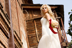 Fantastic beauty bride Stock Photos