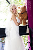 Fantastic beauty bride Royalty Free Stock Photography