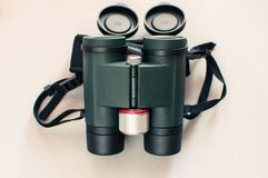 Fantastic binoculars close up, royalty free stock photography