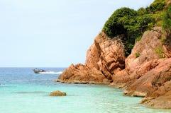Fantastic blue sea Stock Photo