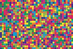 Fantastic Bright Mosaic Pattern vector illustration