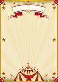 Fantastic brown circus vintage Stock Image