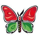 Fantastic butterfly Royalty Free Stock Photo