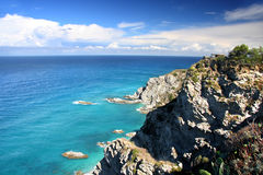 Fantastic Calabria coast in Italy Stock Images