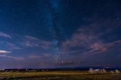 Fantastic canadian sky royalty free stock photography