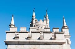 Fantastic castle Stock Image