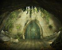 Fantastic cave Stock Photo
