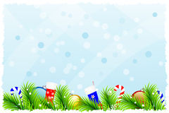 Fantastic christmas background Stock Photography