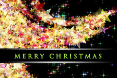 Fantastic Christmas design royalty free stock photo
