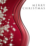 Fantastic Christmas wave design Royalty Free Stock Photography