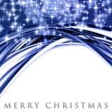Fantastic Christmas wave design Stock Photography