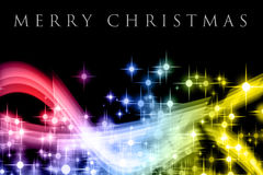 Fantastic Christmas wave design royalty free stock image