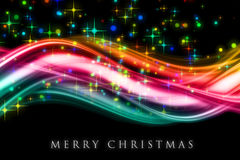 Fantastic Christmas wave design stock photos