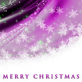 Fantastic Christmas wave design Stock Photo
