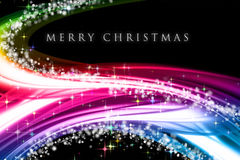Fantastic Christmas wave design Royalty Free Stock Images