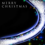 Fantastic Christmas wave design Royalty Free Stock Photos