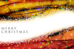 Fantastic Christmas wave design Royalty Free Stock Photo