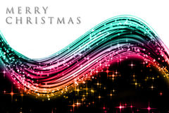Fantastic Christmas wave design royalty free stock photos