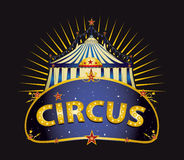Fantastic Circus big top Stock Images